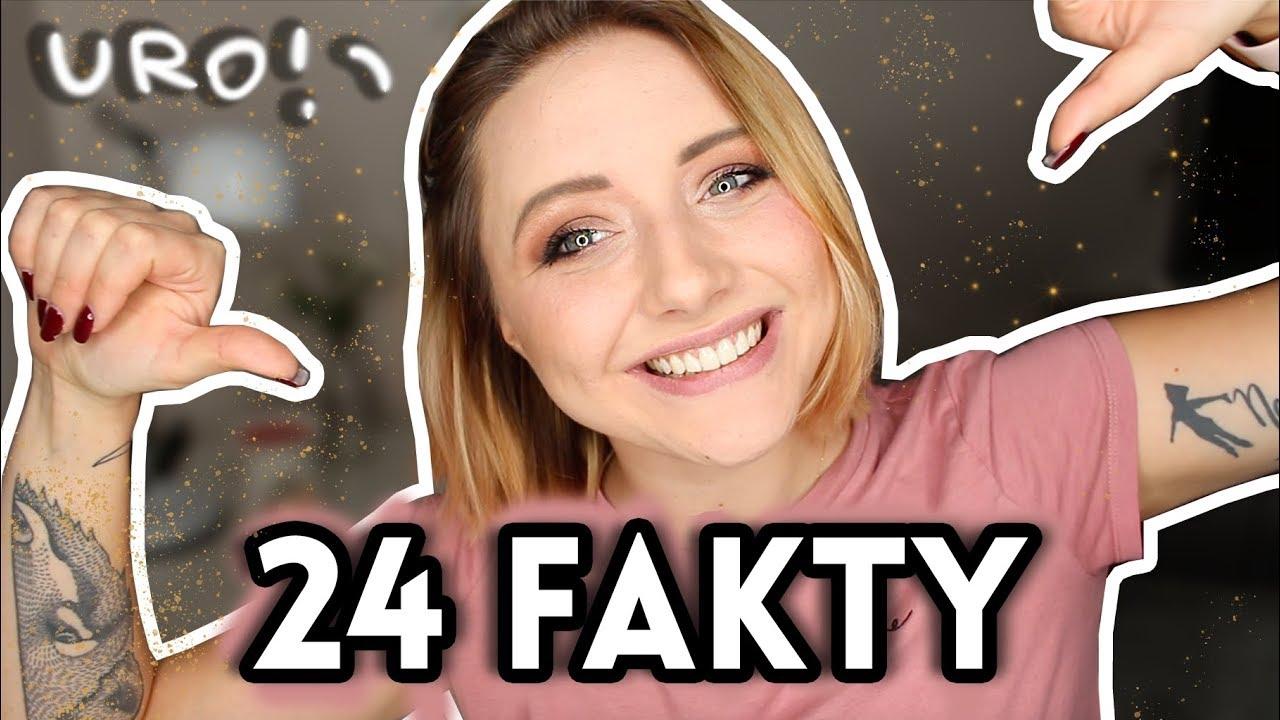 24 psycho-FAKTY o mnie na 24. urodziny 🎂 | Hania Es