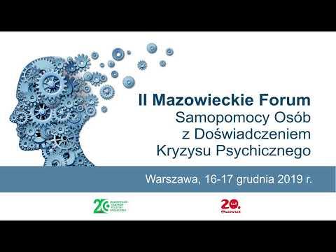 Konferencja: II Mazowieckie Forum Samopomocy Osób z Doświadczeniem Kryzysu Psychicznego